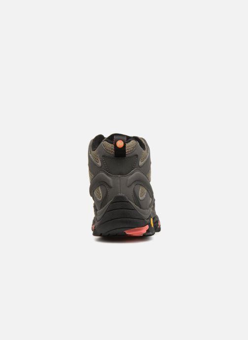 Zapatillas de deporte Merrell MOAB 2 MID GTX W Verde vista lateral derecha