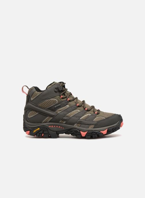 Sport shoes Merrell MOAB 2 MID GTX W Green back view