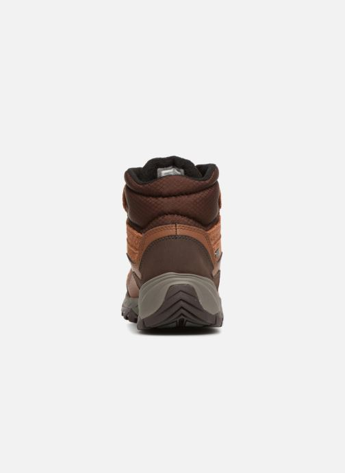 Sport shoes Merrell ICEPACK MID POLAR WTPF Brown view from the right