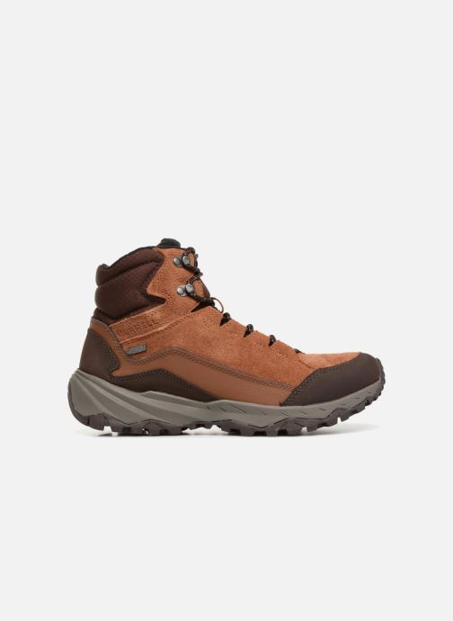 Sport shoes Merrell ICEPACK MID POLAR WTPF Brown back view