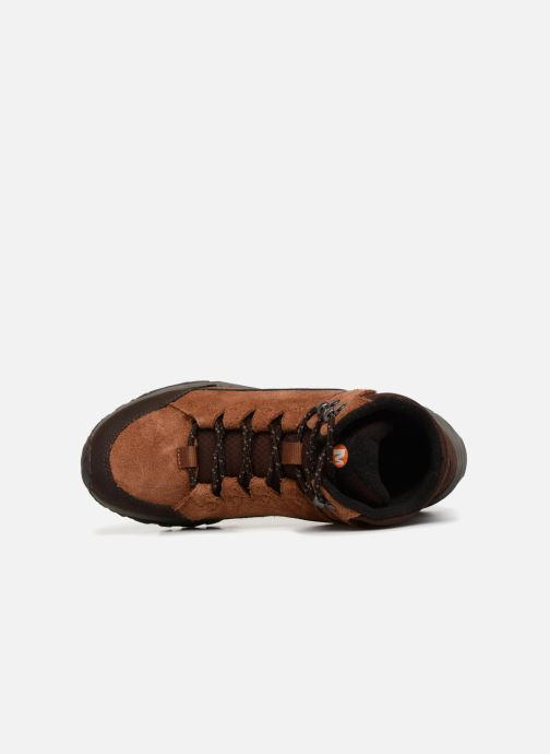 Sport shoes Merrell ICEPACK MID POLAR WTPF Brown view from the left
