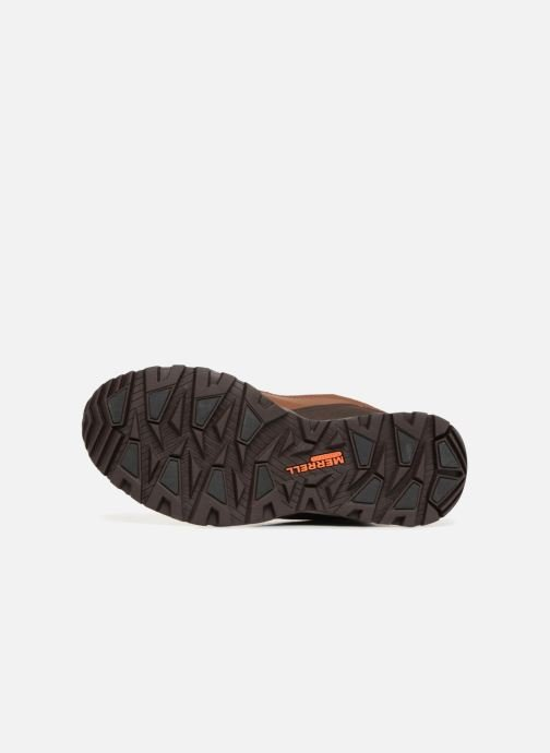 Sport shoes Merrell ICEPACK MID POLAR WTPF Brown view from above