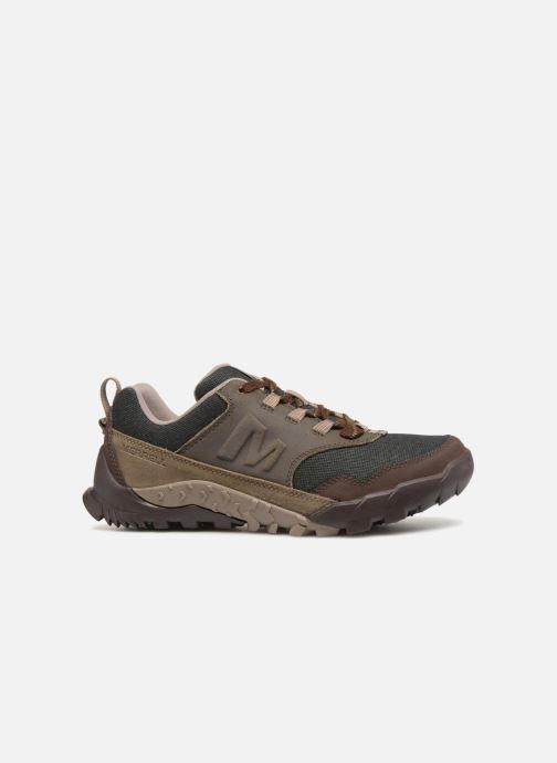 Sport shoes Merrell ANNEX RECRUIT Brown back view