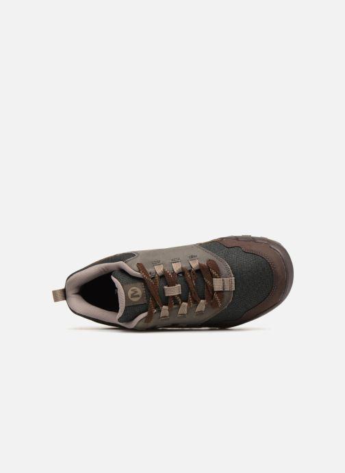 Zapatillas de deporte Merrell ANNEX RECRUIT Marrón vista lateral izquierda