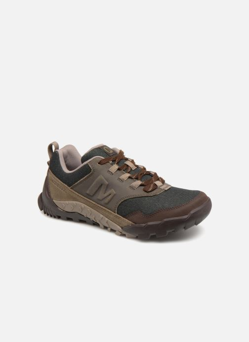 Sport shoes Merrell ANNEX RECRUIT Brown detailed view/ Pair view