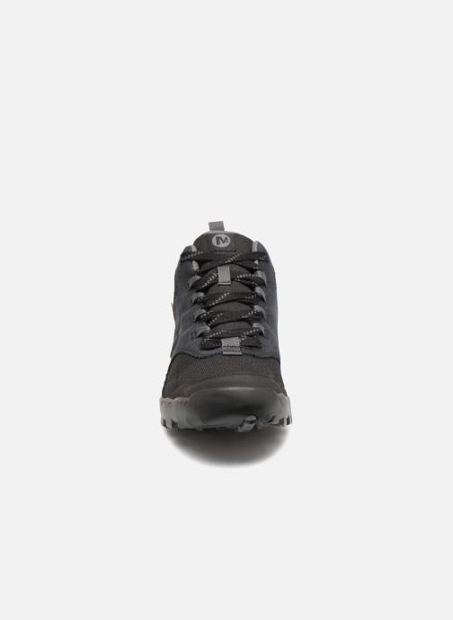 Sportschuhe Merrell ANNEX RECRUIT MID WTPF schwarz schuhe getragen