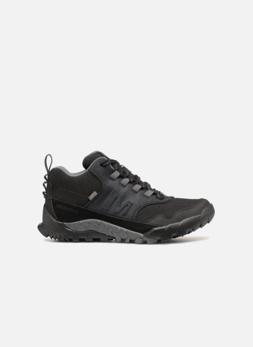 Sport shoes Merrell ANNEX RECRUIT MID WTPF Black back view