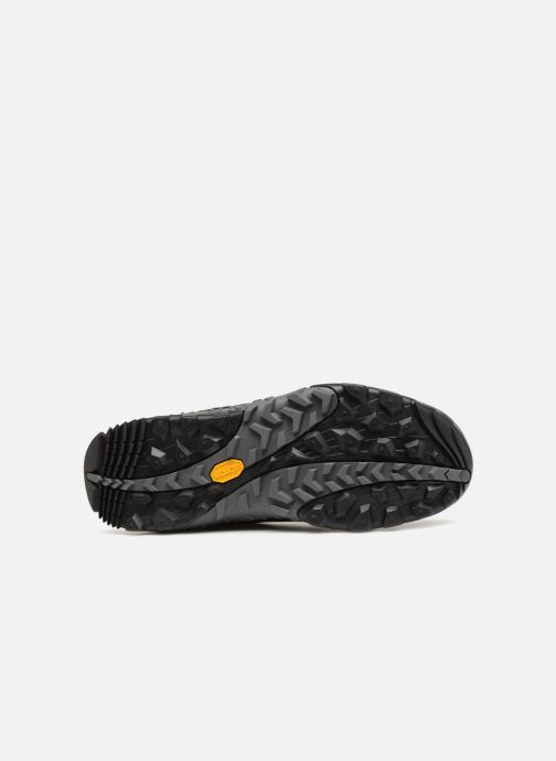 Sport shoes Merrell ANNEX RECRUIT MID WTPF Black view from above