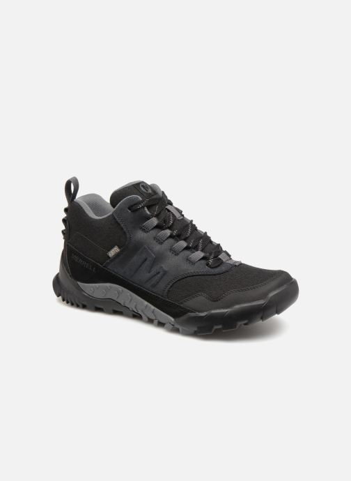 Sport shoes Merrell ANNEX RECRUIT MID WTPF Black detailed view/ Pair view