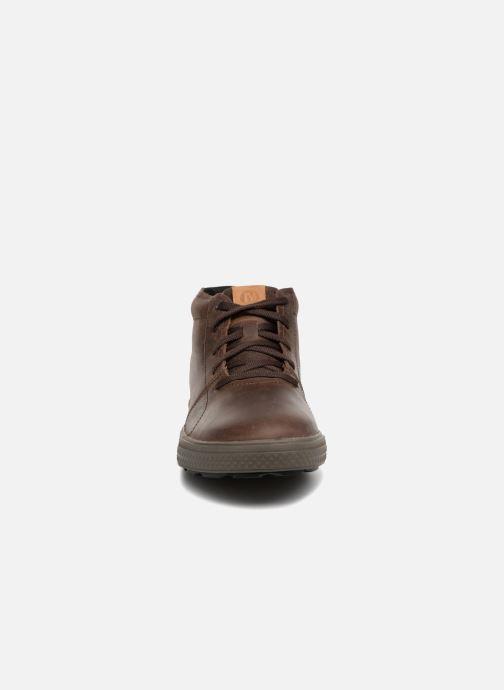 76cd7e4fca8 Chaussures de sport Merrell BARKLEY CHUKKA Marron vue portées chaussures