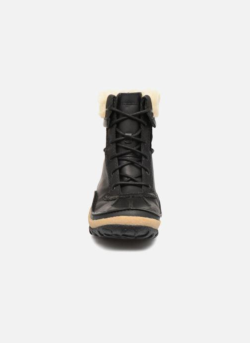 Bottines et boots Merrell TREMBLANT MID POLAR WTPF Noir vue portées chaussures