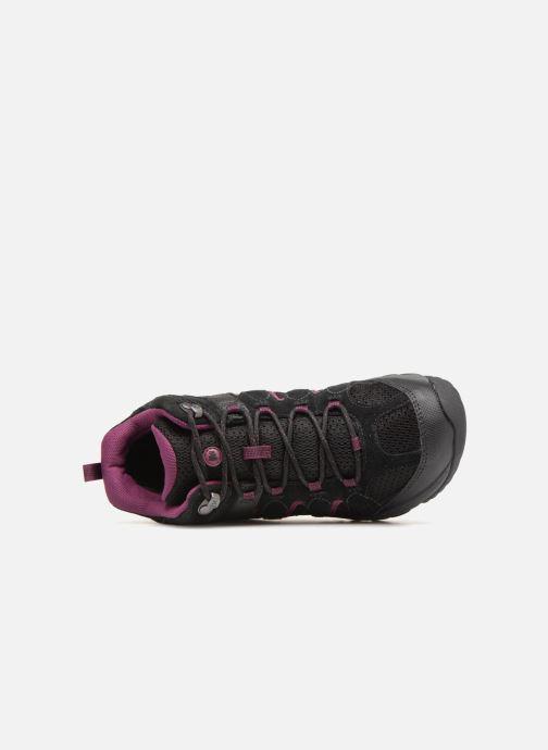 Chaussures de sport Merrell OUTMOST MID VENT GTX W Noir vue gauche