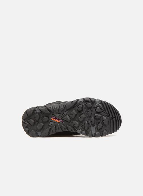 Chaussures de sport Merrell OUTMOST MID VENT GTX W Noir vue haut