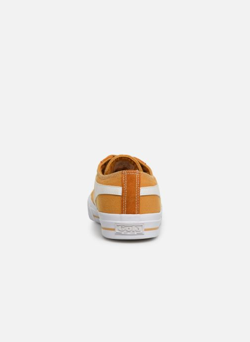 Sneakers Gola QUOTA II Geel rechts