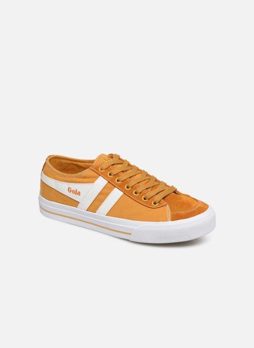 Sneakers Gola QUOTA II Geel detail