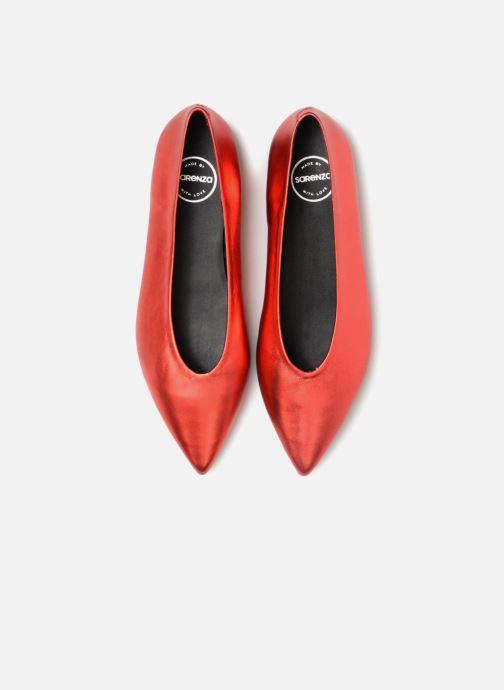 Bailarinas Made by SARENZA Busy Girl Ballerines #2 Rojo vista del modelo