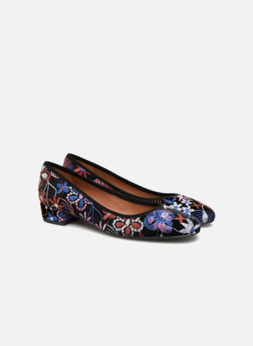 Ballet pumps Made by SARENZA UrbAfrican Ballerines #3 Multicolor back view