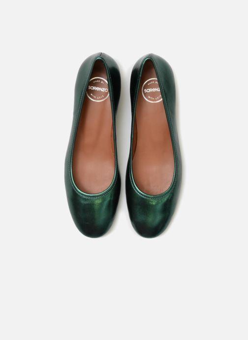 Ballerines Made by SARENZA UrbAfrican Ballerines #3 Vert vue portées chaussures