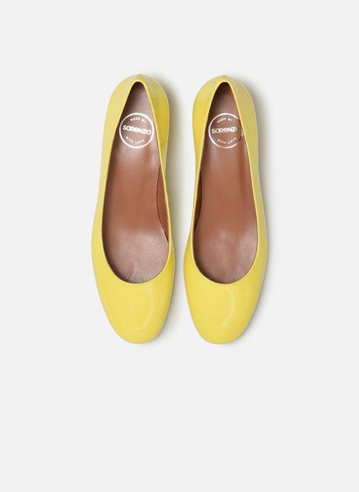 Ballerinaer Made by SARENZA UrbAfrican Ballerines #3 Gul se skoene på