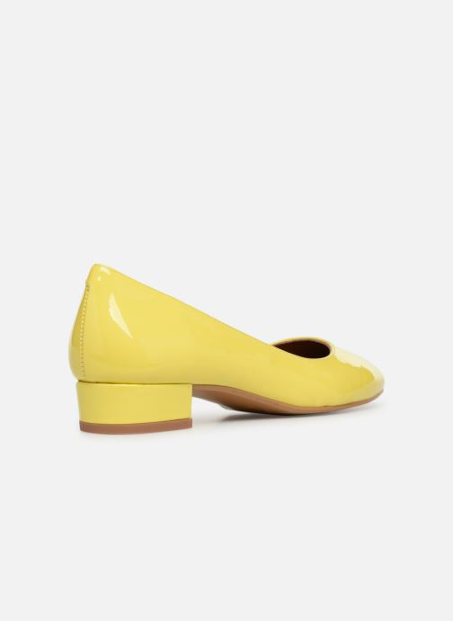 Ballet pumps Made by SARENZA UrbAfrican Ballerines #3 Yellow front view