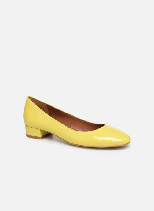 Ballet pumps Made by SARENZA UrbAfrican Ballerines #3 Yellow view from the right