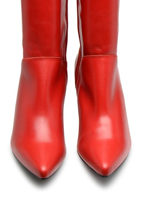 Bottes Made by SARENZA Busy Girl Bottes #3 Rouge vue portées chaussures