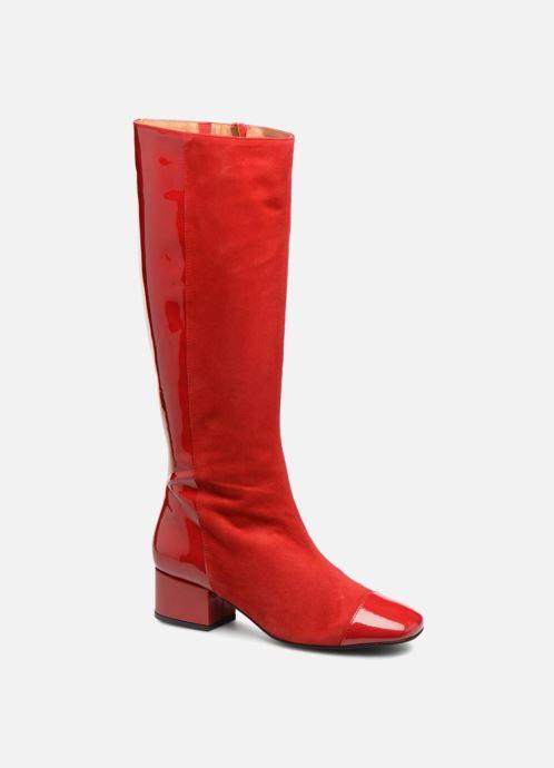 Laarzen Made by SARENZA Retro Dandy Bottes #2 Rood rechts