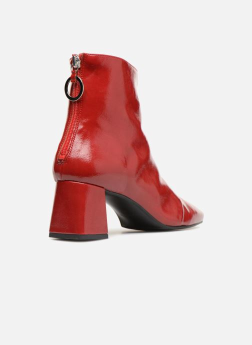 Ankle boots Made by SARENZA Busy Girl Bottines à Talons #2 Red front view