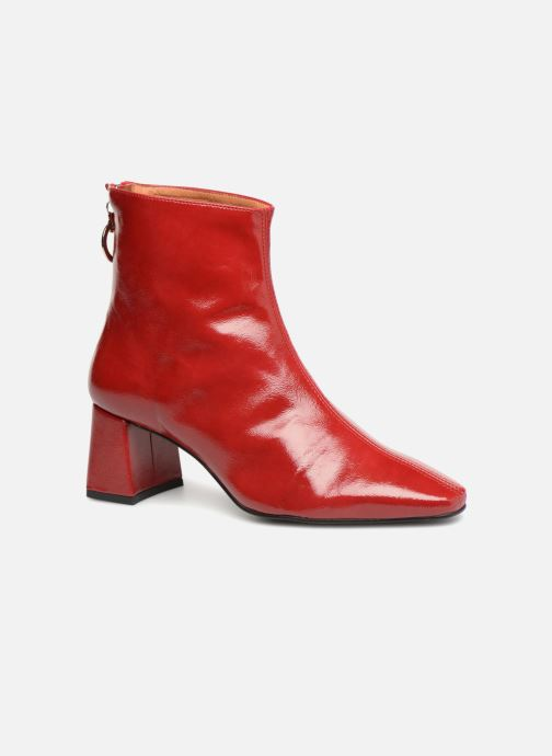 Ankle boots Made by SARENZA Busy Girl Bottines à Talons #2 Red view from the right
