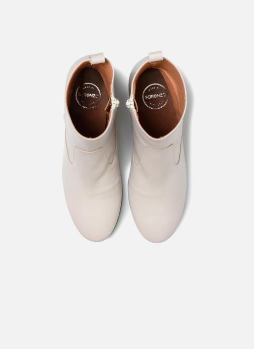 Bottines et boots Made by SARENZA Toundra Girl Bottines à Talons #6 Blanc vue portées chaussures