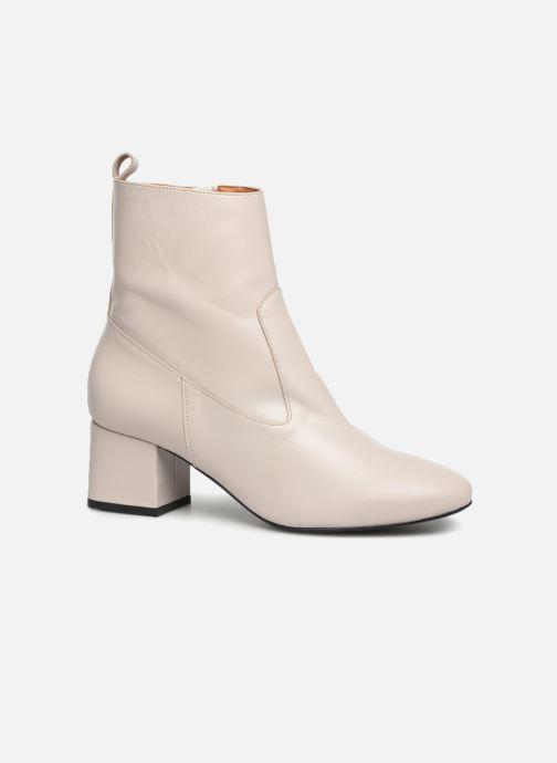 Bottines et boots Made by SARENZA Toundra Girl Bottines à Talons #6 Blanc vue droite