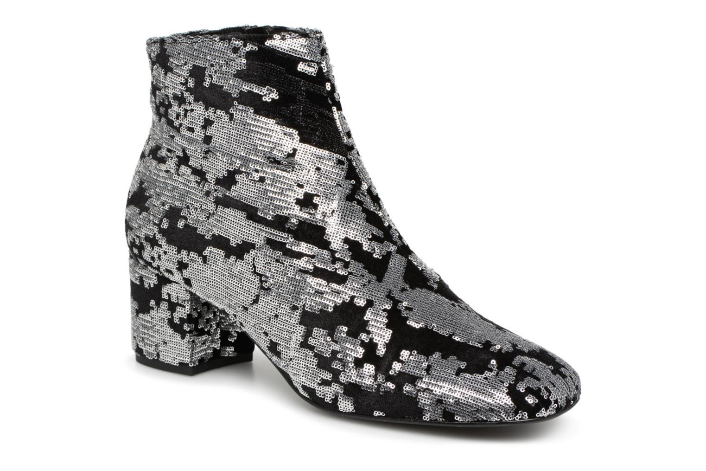 Bottines et boots Made by SARENZA 80's Disco Girl Bottines à Talons #7 Argent vue droite