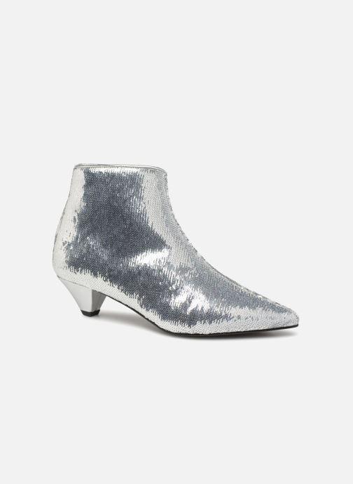 Bottines et boots Made by SARENZA 80's Disco Girl Bottines à Talons #2 Argent vue droite
