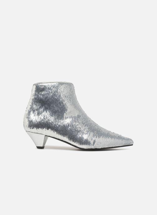 Bottines et boots Made by SARENZA 80's Disco Girl Bottines à Talons #2 Argent vue détail/paire