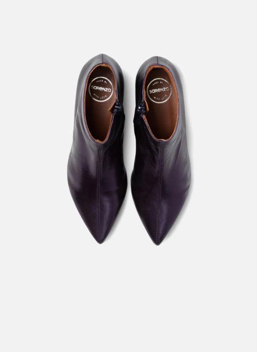 Bottines et boots Made by SARENZA 80's Disco Girl Bottines à Talons #2 Violet vue portées chaussures