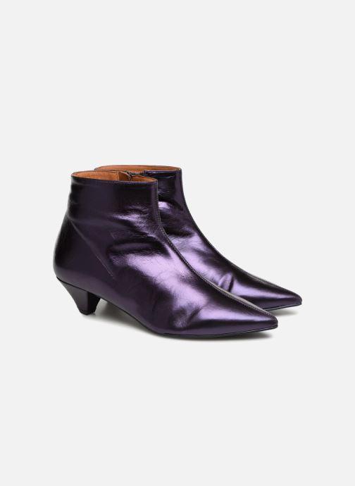 Bottines et boots Made by SARENZA 80's Disco Girl Bottines à Talons #2 Violet vue derrière