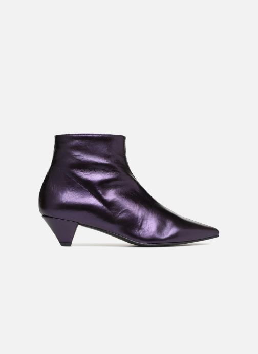 Ankle boots Made by SARENZA 80's Disco Girl Bottines à Talons #2 Purple detailed view/ Pair view