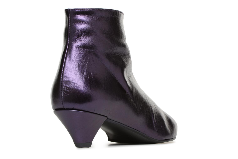 Stiefeletten & Boots Made by SARENZA 80's Disco Girl Bottines à Talons #2 lila ansicht von vorne