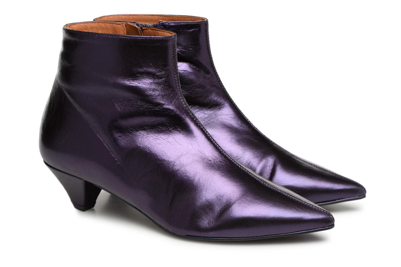 Stiefeletten & Boots Made by SARENZA 80's Disco Girl Bottines à Talons #2 lila ansicht von hinten