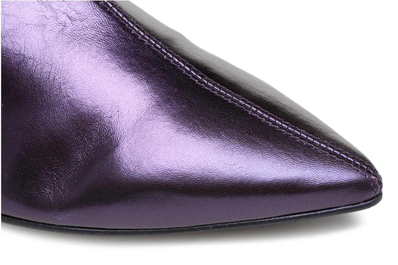 Stiefeletten & Boots Made by SARENZA 80's Disco Girl Bottines à Talons #2 lila ansicht von links