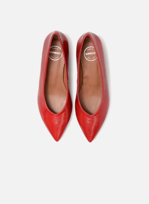 Décolleté Made by SARENZA Busy Girl Escarpins #8 Rosso modello indossato