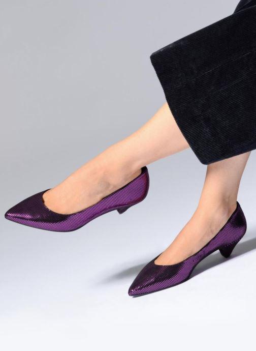 Zapatos de tacón Made by SARENZA 80's Disco Girl Escarpins #2 Rosa vista de abajo