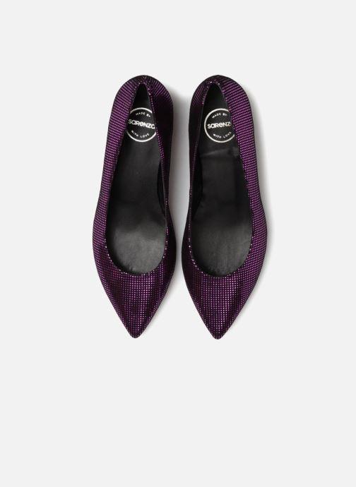 Zapatos de tacón Made by SARENZA 80's Disco Girl Escarpins #2 Rosa vista del modelo