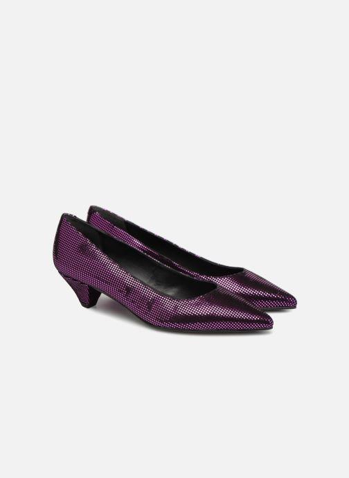Zapatos de tacón Made by SARENZA 80's Disco Girl Escarpins #2 Rosa vistra trasera
