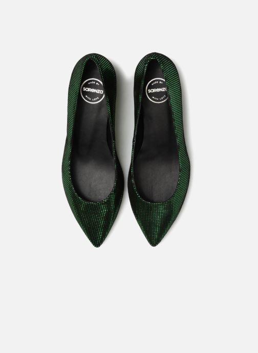 Zapatos de tacón Made by SARENZA 80's Disco Girl Escarpins #2 Verde vista del modelo
