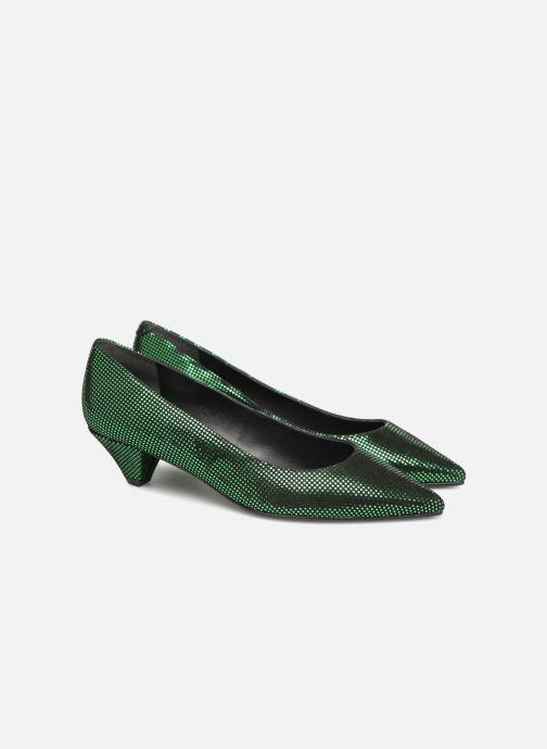Zapatos de tacón Made by SARENZA 80's Disco Girl Escarpins #2 Verde vistra trasera