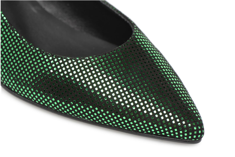 Escarpins Made by SARENZA 80's Disco Girl Escarpins #2 Vert vue gauche
