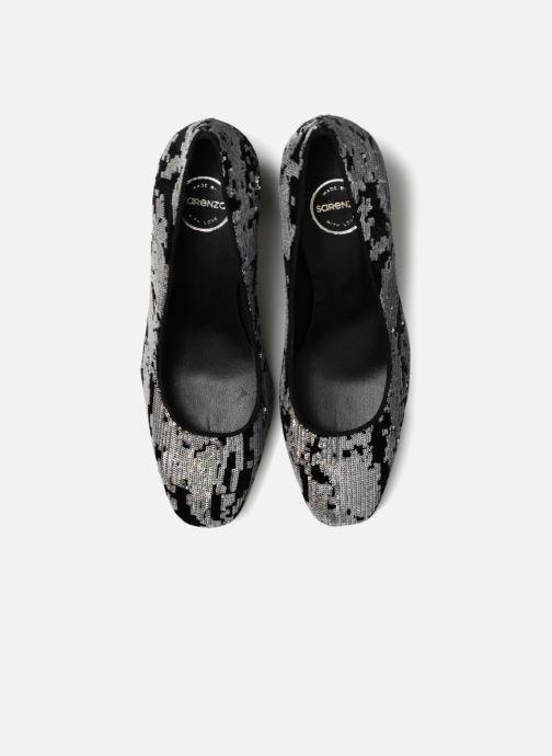 Zapatos de tacón Made by SARENZA 80's Disco Girl Escarpins #4 Plateado vista del modelo