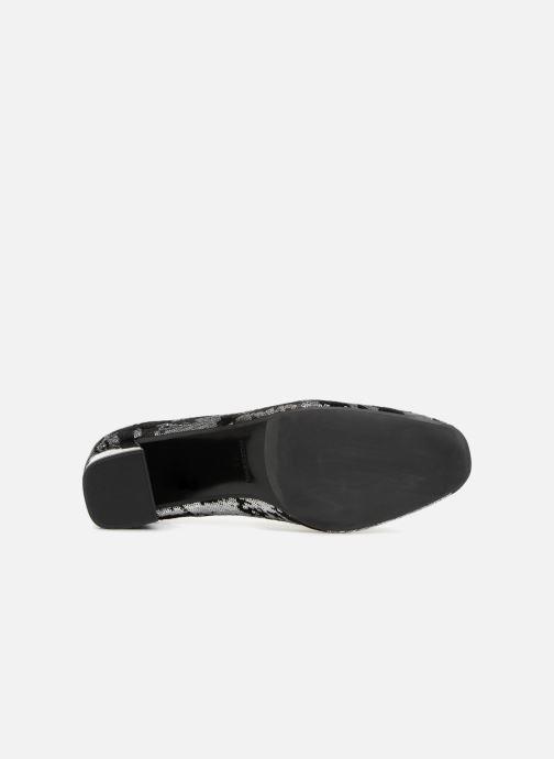 Zapatos de tacón Made by SARENZA 80's Disco Girl Escarpins #4 Plateado vista de arriba