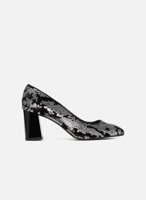 High heels Made by SARENZA 80's Disco Girl Escarpins #4 Silver detailed view/ Pair view